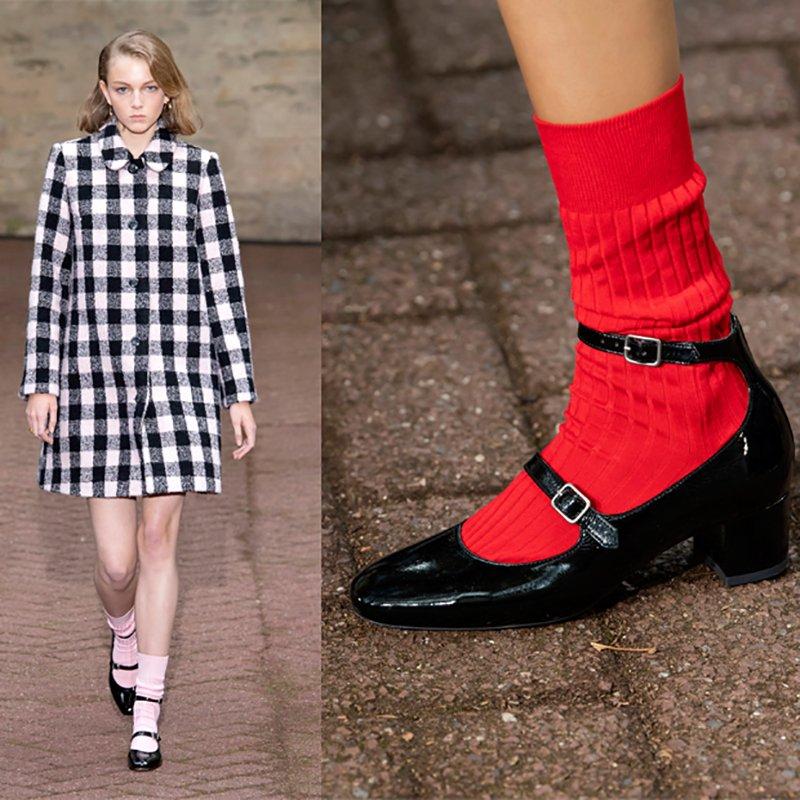 Foto di scarpe con calzini