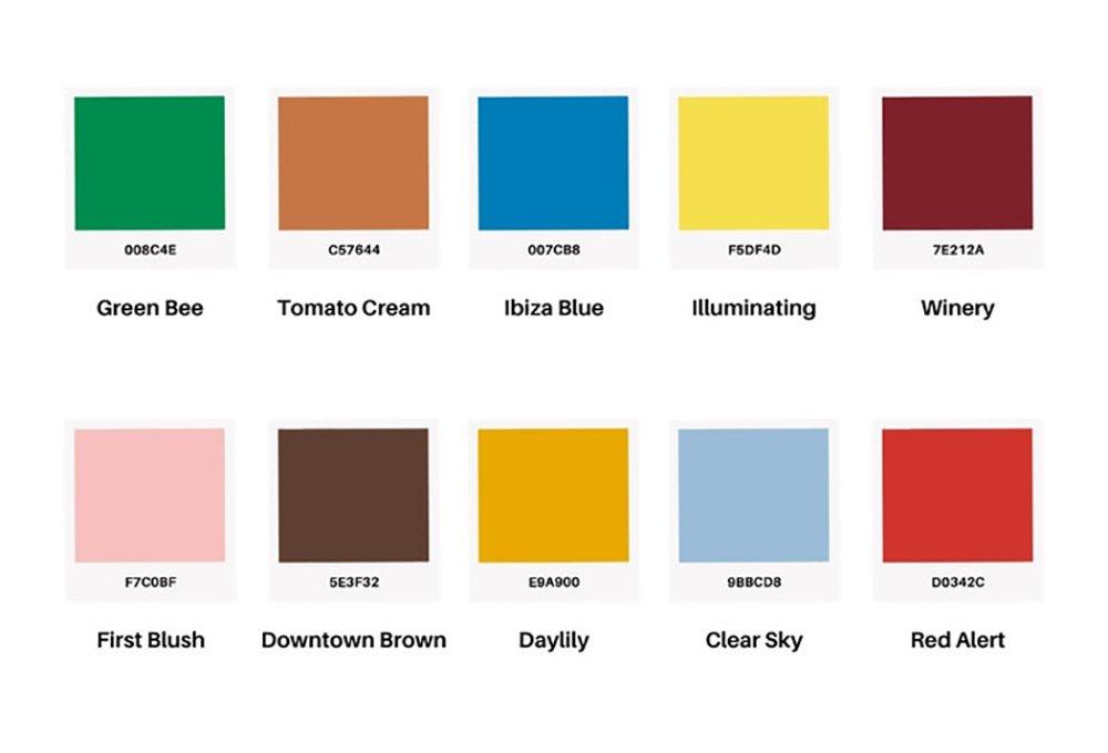 Foto dei colori moda autunno inverno 2021-2022