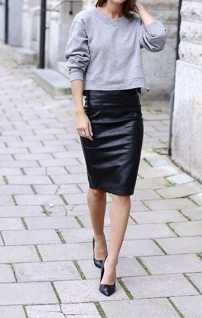 Foto di outfit da ufficio trendy