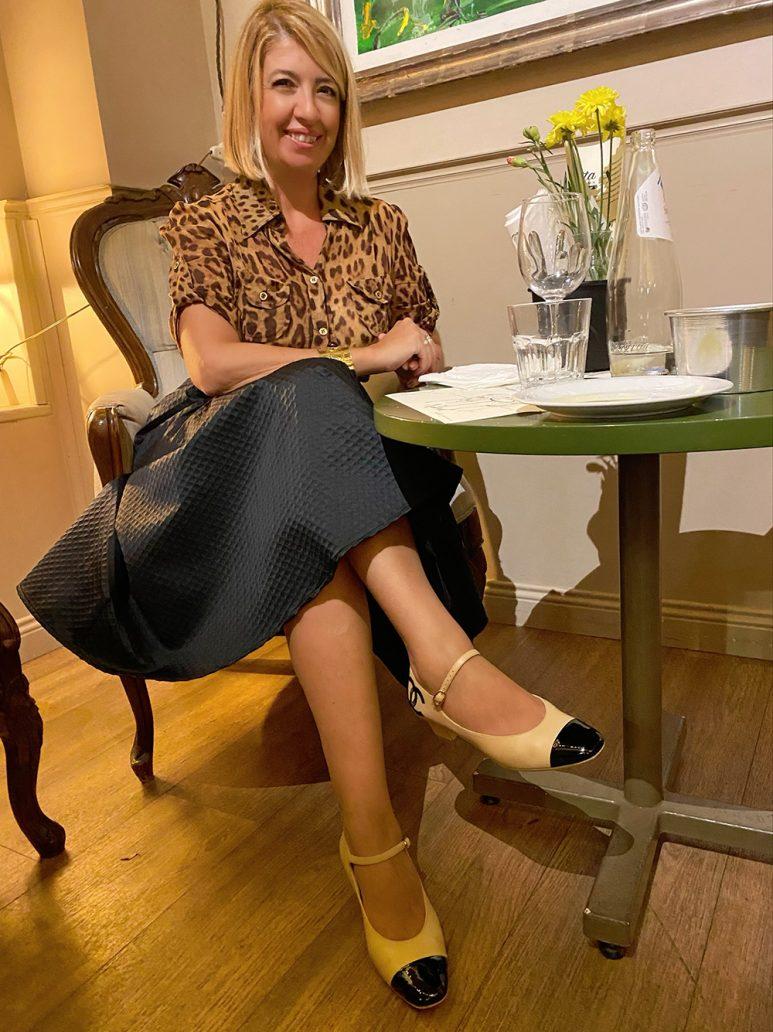 Foto di look classico con Mary Jane