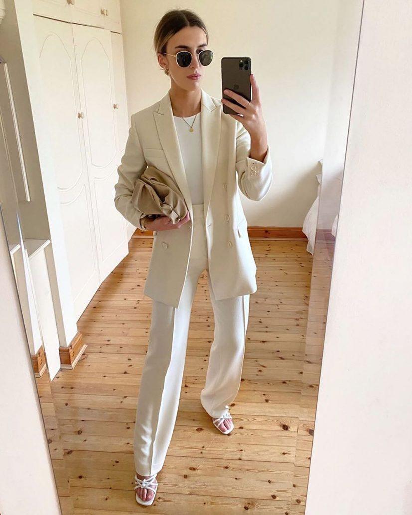 Foto di outfit da ufficio Zara