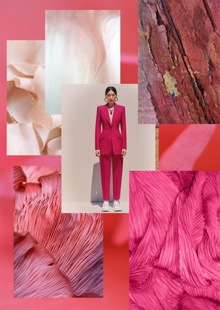 Foto di colore rosa per autunno inverno 2021-2022