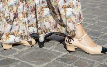 Foto delle scarpe Mary Jane di Chanel