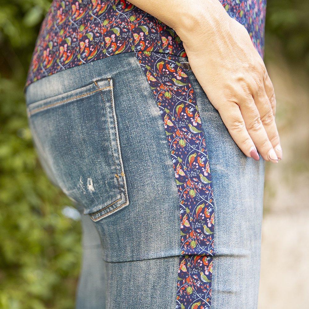Foto di jeans in seta di Luluredgrove