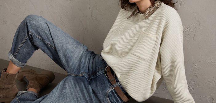 Il Maglione Beige per gli outfit dell'autunno inverno